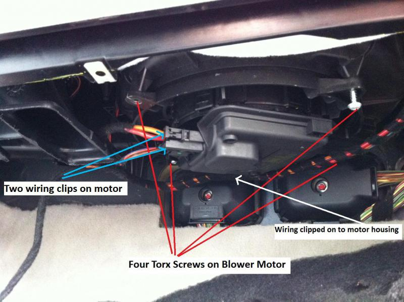 2013 Sprinter Fuse Diagram How To Save 720 On The Ml Blower Motor W164 Mercedes