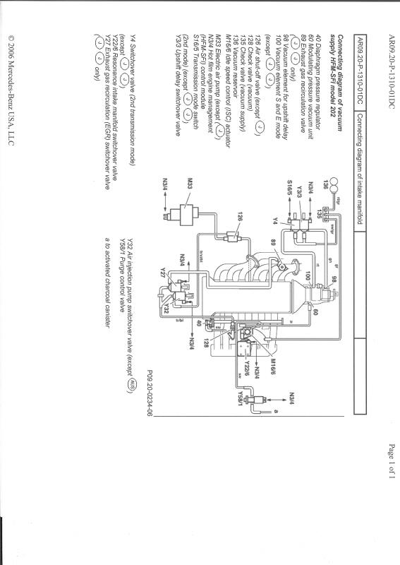 Breathtaking Mercedes-benz 1998 C230 Engine Diagram Photos