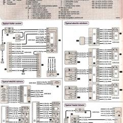 Mercedes Benz W210 Wiring Diagram 1965 Mustang Steering Column Diagrams - Trailer Socket/electric Windows/mirrors/heater Blower Mercedes-benz Forum