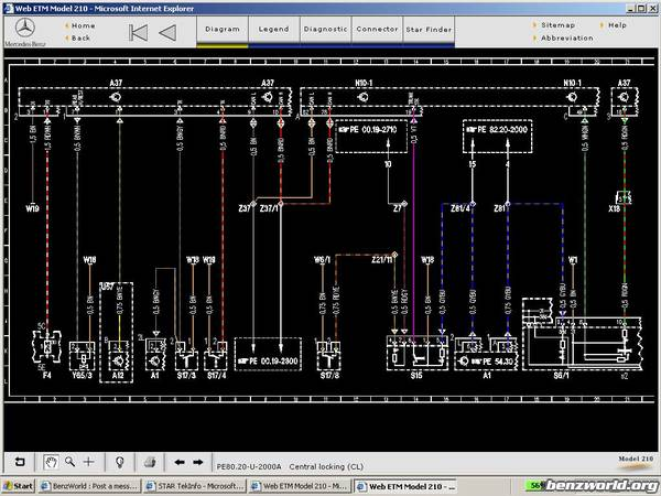 ecu wiring diagram mercedes types of diagrams and charts e300 benz 559 kb 17354 views at vevomusik co