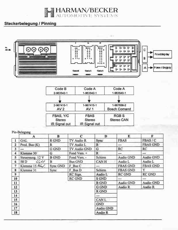 6 pin switch wiring diagram sequence of login page w210 e320 radio connector outs - mercedes-benz forum