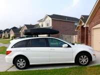 photo of R-Class with basic roof rack - Mercedes-Benz Forum