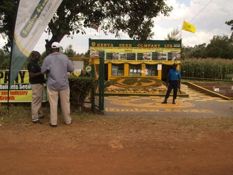 Landwirtschaftsmesse in Kitale