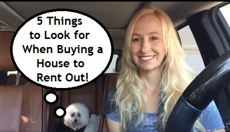 Buy a House to Rent Out- The Top 5 Things to Look For