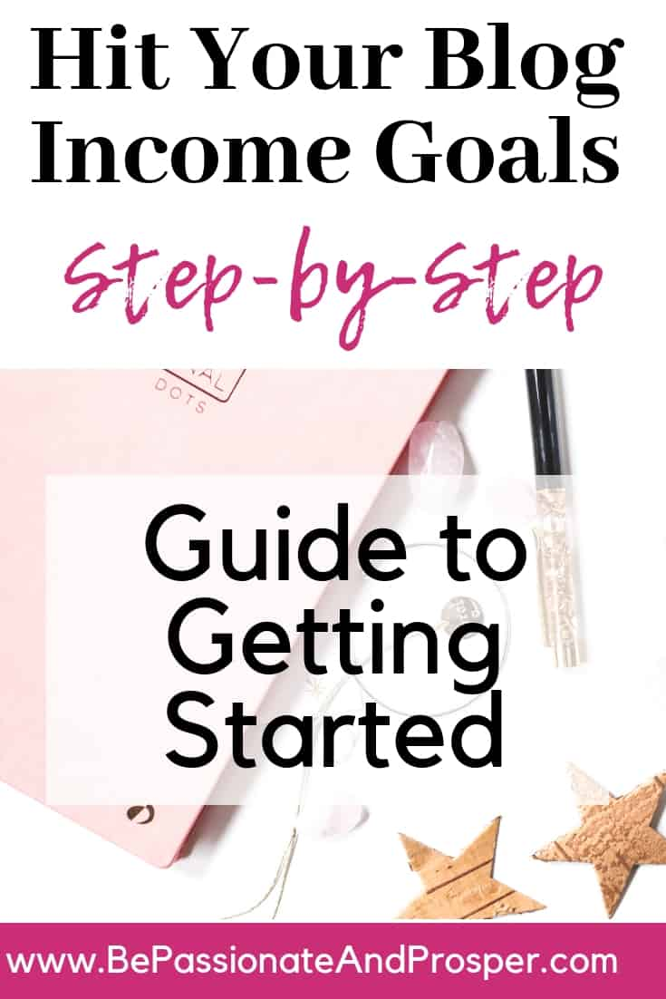 How to Meet Your Blog Income Goals 2019