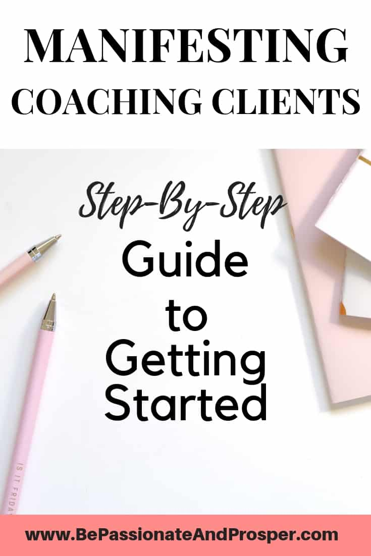 Manifesting Coaching Clients