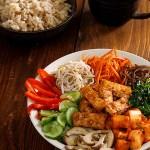"""Cách Làm Cơm Trộn Hàn Quốc Thuần Chay """"Bibimbap"""""""