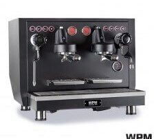 KD-510 Commercial two-group machine (Black)
