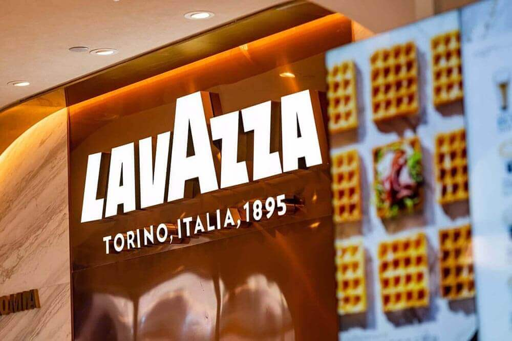 Lavazza flagship store in china