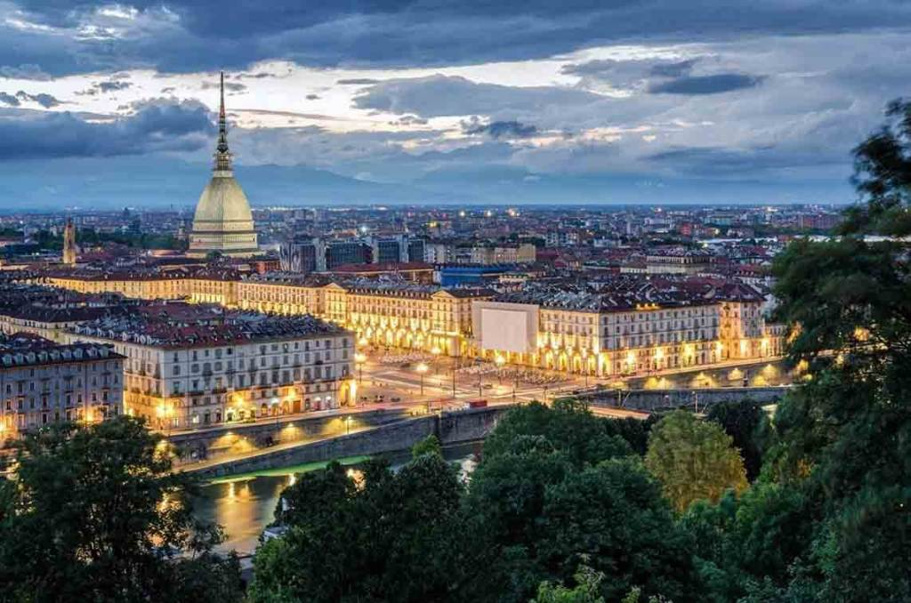 Turin city Italy lavazza