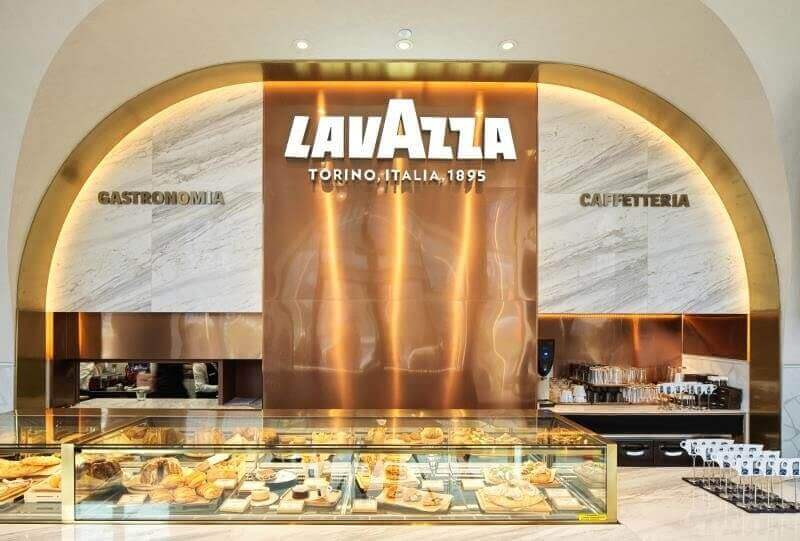 lavazza flagship coffee store