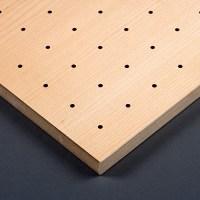 Gelochte Akustikplatten Holz
