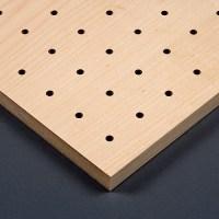 Gelochte Akustikplatten Holz-F - BER Deckensysteme GmbH