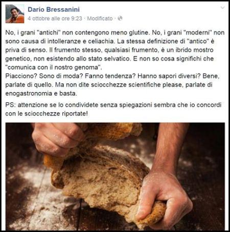 grani antichi pane glutine celiachia intolleranza bressanini