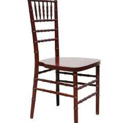 Chair Rental Chicago Black And White Wing Mahogany Chiavari