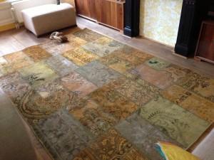 patchwork vloerkleed Berberhuis