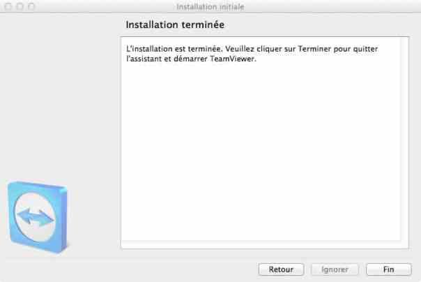 TeamViewer, étape 9