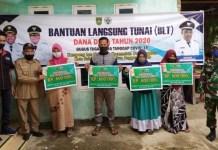 Total Penggunaan Dana Desa yang Sudah Disalurkan Hingga Desember 2020