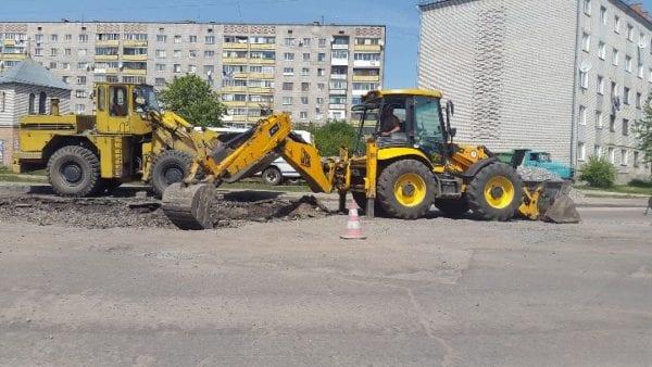 На вулиці кінець жовтня, і в Бердичеві вирішили розпочати, нарешті, капітальний ремонт доріг