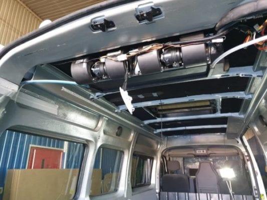 Переоборудование микроавтобуса Рено Мастер под спецзадачу