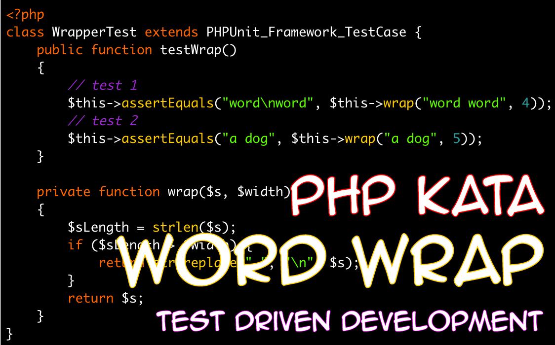 word-wrap-php-kata