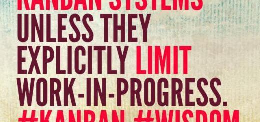 Managing WIP through Kanban Boards