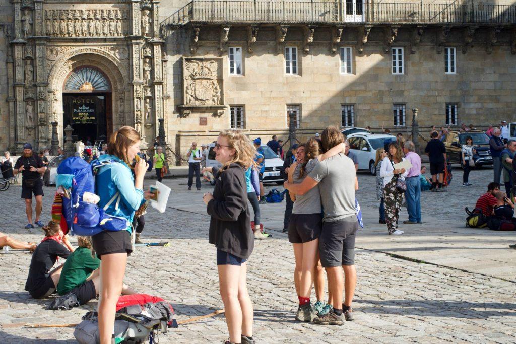 Praza do Obradoiro.  Santiago de Compostela.