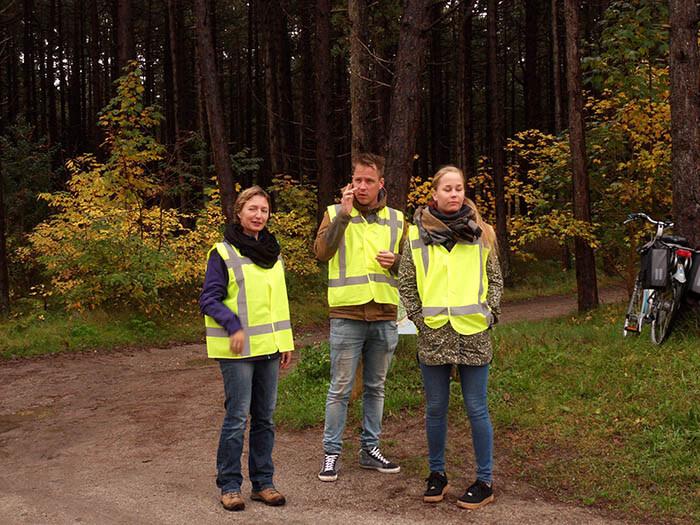 foto's voorbereiding en start Kleintje Berenloop 2015