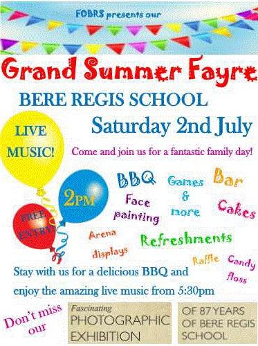 Summer Fayre Poster - school
