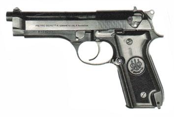 Beretta 92S-1 (Image Beretta).