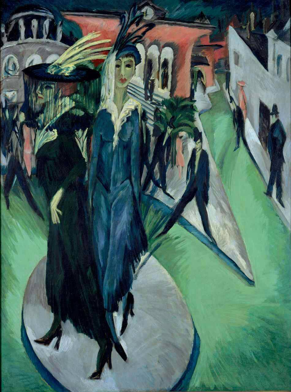 Kirchner lespressionismo ponte tra vecchio e nuovo  Bergamo News