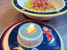 Jambon et sa purée de patate douce blanche, courgette et pointe de curry - bergamote family (9)