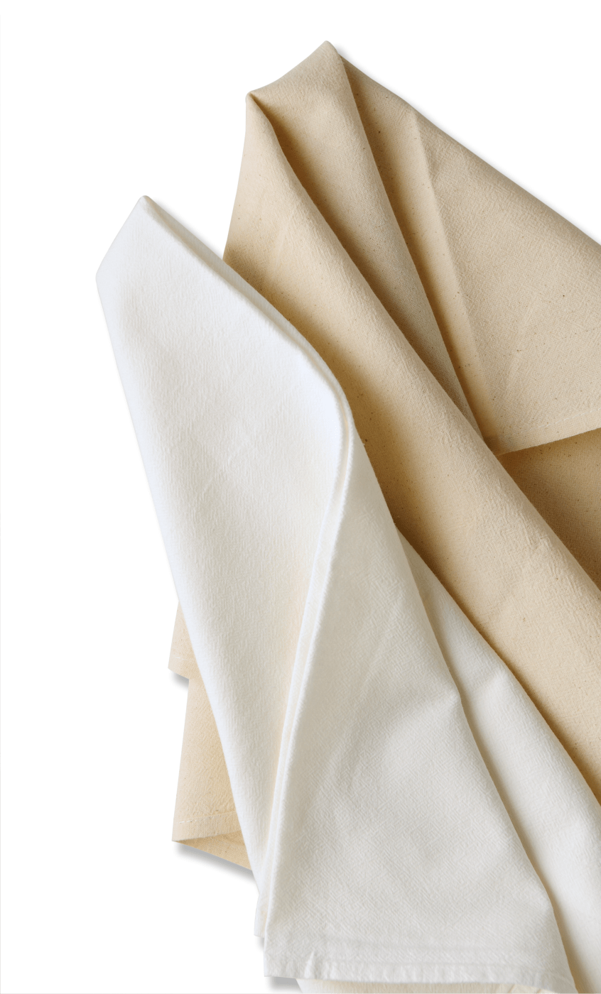 kitchen towels wholesale butcher block islands berg bag company flour sack or tea official site natural and white