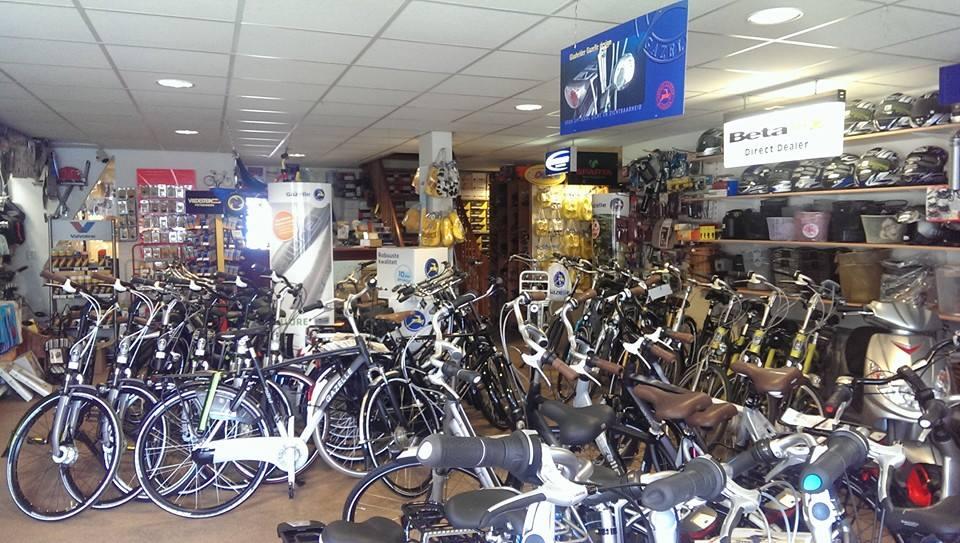 Bergbikes winkel binnen