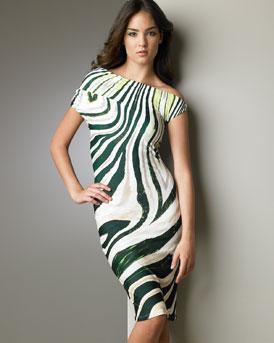 B0TM2 Roberto Cavalli Psychedelic Print Dress