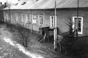 Boligbrakke på Møllendal i 1950- eller 60-årene. Foto: Gustav Brosing. Billedsamlingen UBB. (Kat.sign. UBB-BROS-03642)