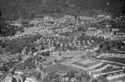 Fridalen 1955. Foto: Widerøes flyveselskap. Billedsamlingen Universitetet i Bergen