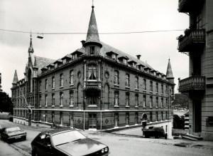 Sjøfarendes Aldershjem fotografert i 1979. Fotograf: Øyvind H. Berger.<br />Fotoregistrering av Bergen, Bergen Byarkiv.