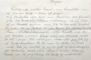 Søknad om pengehjelp fra Berte Bergstad datert 6.mai 1916. Vedlagt ligger en liste over alt hun mistet under brannen. Arkivet etter Hjelpekomiteen for brandlidte 1916. (A-1454, Ea:2)