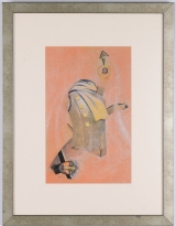 "<h5>""Headless Body"" by Edna Dagan (N/D)</h5><p>Approx. 10""x16""; Embellished mechanical print BMAS 1038</p>"