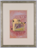 "<h5>""Suitcase"" by Edna Dagan (N/D)</h5><p>Approx. 10""x16""; Mechanical print BMAS 1036</p>"