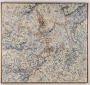"<h5>""Fossil Painting"" by Richard Roederer (N/D)</h5><p>Approx. 50""x53""; Oil on canvas BMAS 1174</p>"