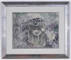 """<h5>""""Sur la Table"""" by Susan Hartenhoff (N/D)</h5><p>Approx. 26""""x36""""; Colored intaglio (?) BMAS 1198</p>"""