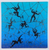 "<h5>""Untitled [Figures in Web]"" by Magdalena Nemesh (2002)</h5><p>Approx. 55""x59""; Oil on canvas BMAS 1161</p>"