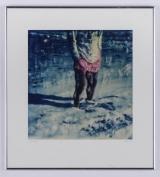 """<h5>""""Pink Shorts"""" by Ira D. Levine (N/D)</h5><p>Approx. 18″x24″; Photographic print BMAS N/N</p>"""
