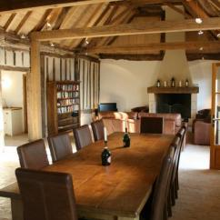 Living Room Leather Chairs Plastic With Steel Legs Bellevue : Three Bedroom Barn Conversion In The South Of France