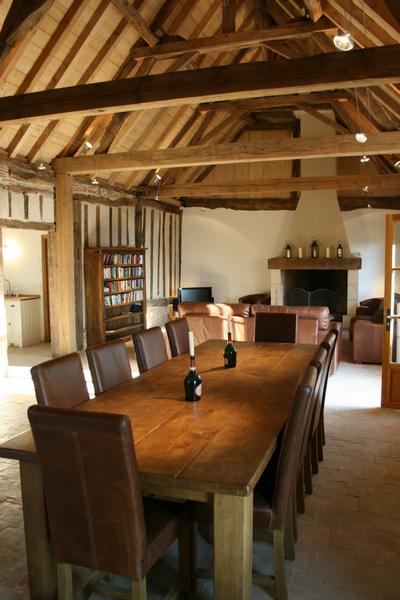 french sofas and chairs sofa source of furniture accessories bellevue : three bedroom barn conversion in the south ...