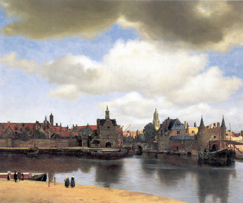 VIEW OF DELFT - 1660-1661