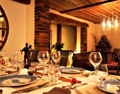 Table d'hôtes hiver