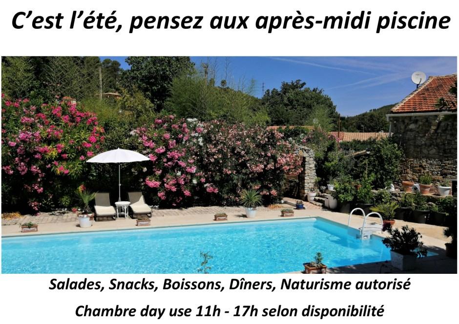 afternoon pool, summer